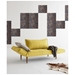 Zeal Deluxe Adjustable Sofa by Innovation in Soft Mustard