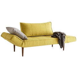 Zeal Deluxe Daybed in Soft Mustard by Innovation