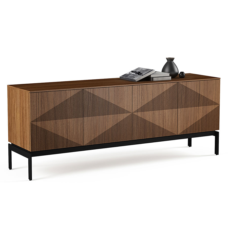 BDI Zona Walnut Contemporary Credenza