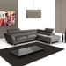 Sparta Modern Italian Leather Sectional Sofa