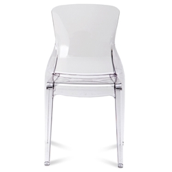 Crystal Contemporary Dining Chair